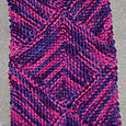 Artyarns Diamond Modular Scarf